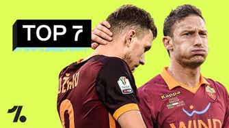 Anteprima immagine per Le peggiori SCONFITTE della Roma!