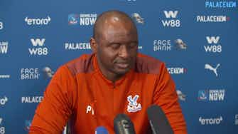 Preview image for Patrick Vieira putting emotion to the side on Arsenal return