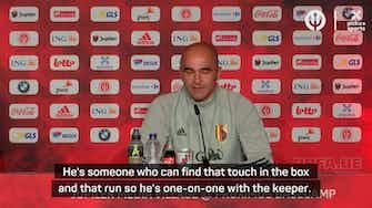 Preview image for 'Born goalscorer' Lukaku a real leader for Belgium - Martinez