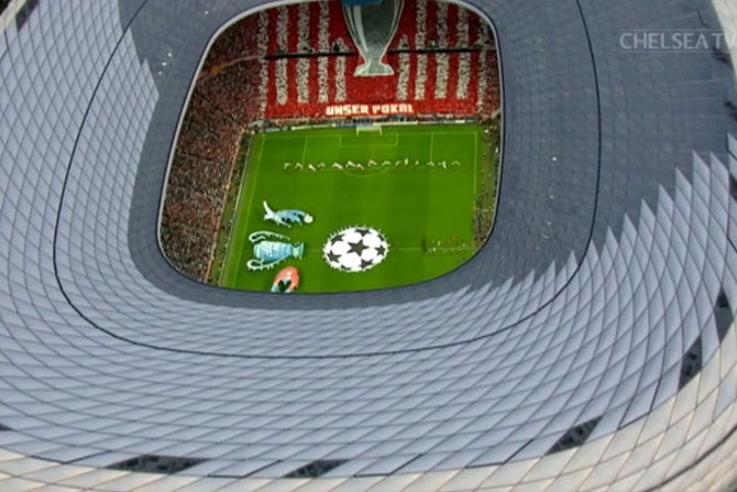 Gols de Didier Drogba na final da Liga dos Campeões 2012