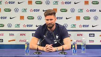 """Image d'aperçu pour Bleus - Giroud sur Kanté : """"Il mérite toutes les éloges"""""""