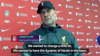 Preview image for Klopp praises Harvey Elliott's performance alongside Liverpool midfielders