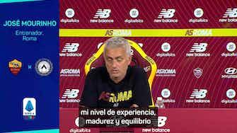 Imagen de vista previa para Mourinho, contra la euforia y la depresión romana