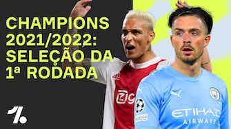 Imagem de visualização para Seleção da 1ª Rodada da CHAMPIONS LEAGUE 21/22!