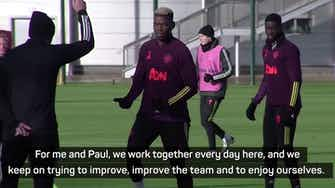 Preview image for Solskjaer challenges Pogba to be more consistent
