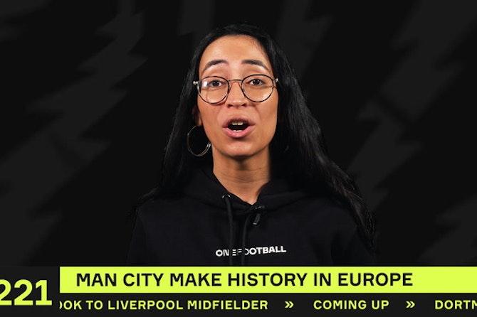 Man City make Champions League HISTORY!