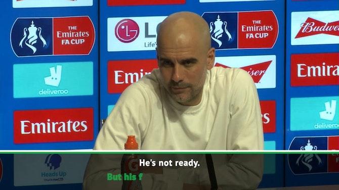 Sane still weeks away from Man City return - Guardiola