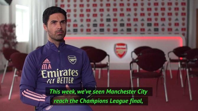 'Honoured to be at Arsenal' - Arteta