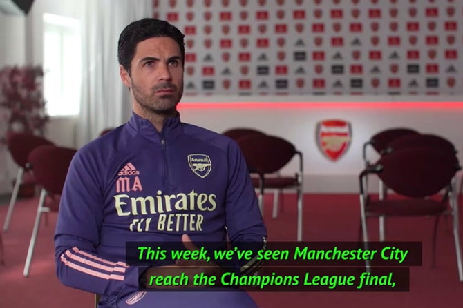 'Honoured to be at Arsenal' - Arteta