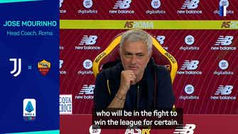 Preview image for Mourinho backs Juventus to be title contenders