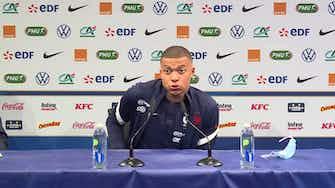 """Image d'aperçu pour Bleus - Mbappé : """"Je ne suis pas un joueur parfait"""""""