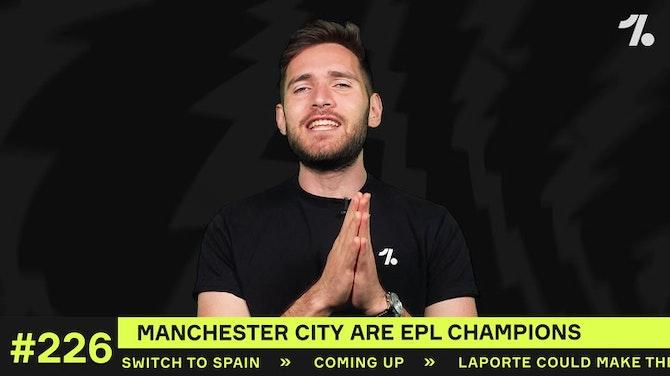 Man City are Premier League CHAMPIONS!