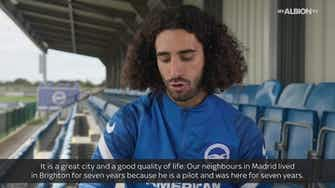 Preview image for Marc Cucurella looks forward to exploring new home Brighton