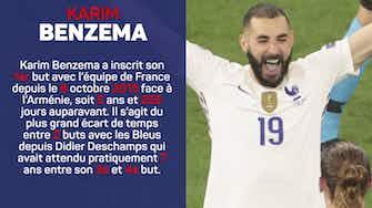 Image d'aperçu pour Groupe F - Le bleu du match : Karim Benzema
