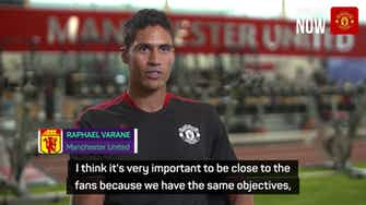 Preview image for Varane begins United career a decade after Sir Alex Ferguson meeting