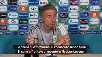 """Anteprima immagine per Luis Enrique: """"Una squadra migliore della Spagna? Non l'ho vista"""""""