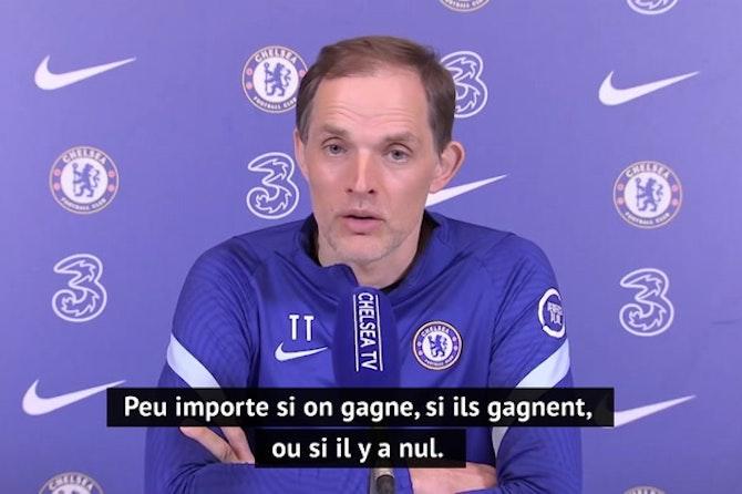 35e j. - Tuchel convaincu que le choc contre City n'aura pas d'incidence sur la finale de la Ligue des champions