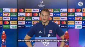 Imagem de visualização para Neuer recorda 8 a 2, mas vê Barça 'completamente diferente' para estreia na Champions