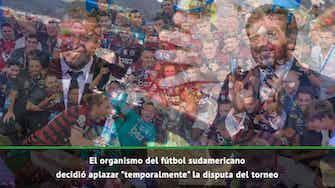 Imagen de vista previa para Conmebol suspendió la Libertadores
