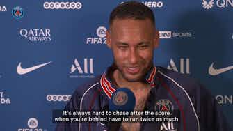 """Preview image for Neymar: """"Really happy to come back with a win"""""""