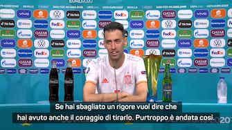 """Anteprima immagine per Busquets: """"Che reazione dopo il rigore sbagliato da Morata"""""""