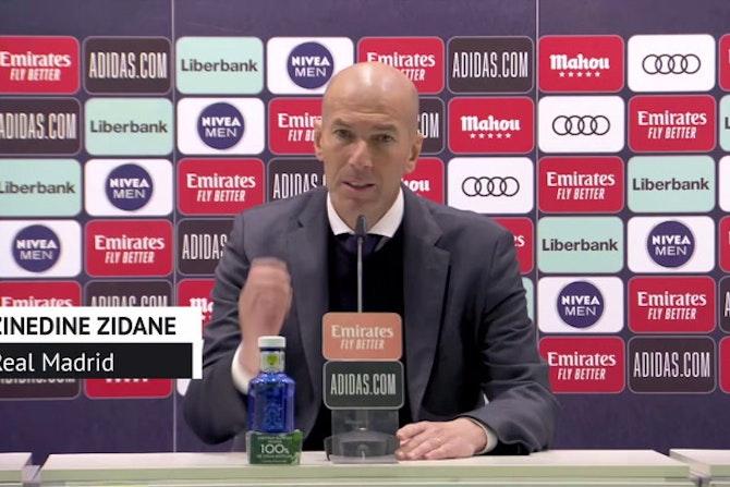 """Zidane, en titulares: """"Vamos a luchar hasta el final"""""""