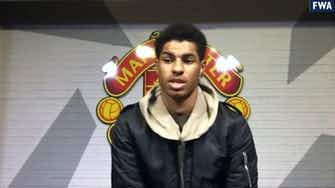 Preview image for It's going to be a good feeling if we win the league, says Marcus Rashford ahead of Liverpool v Man Utd