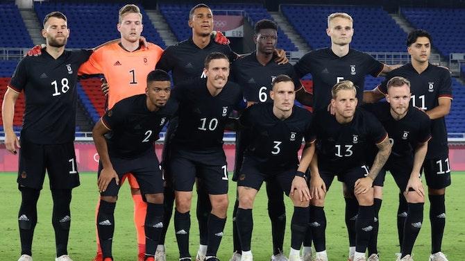 Vorschaubild für Siegen oder Fliegen: DFB-Team kämpft gegen das Olympia-Aus