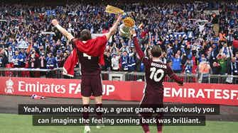 Preview image for 'An unbelievable day' - King revels in Leicester Cup win
