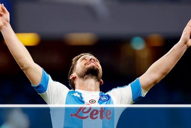 Napoli-Lazio 5-2, le statistiche della partita