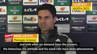 Preview image for Arteta happy with Odegaard's 'phenomenal' start at Arsenal