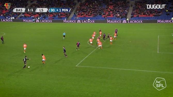 Image d'aperçu pour Les meilleurs buts du FC Bâle contre Lausanne