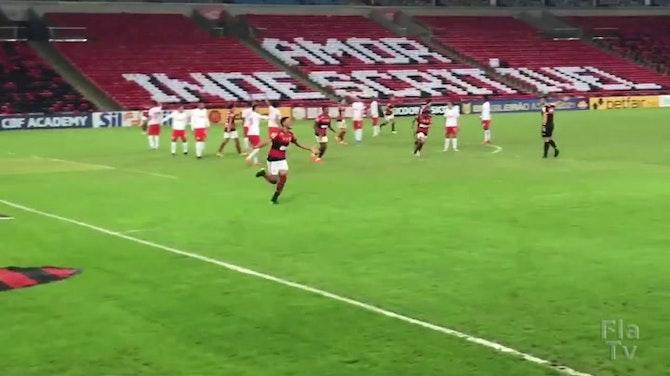 Confira os gols de Rodrigo Muniz na derrota do Flamengo para o Bragantino