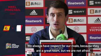 """Preview image for Spain """"not afraid"""" of France in Nations League final - Oyarzabal"""
