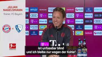 """Vorschaubild für Nagelsmann zu Goretzka-Lob: """"Was soll er sagen?!"""""""