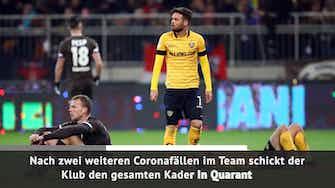 Vorschaubild für Wegen Corona: Dresden verpasst Zweitligaauftakt