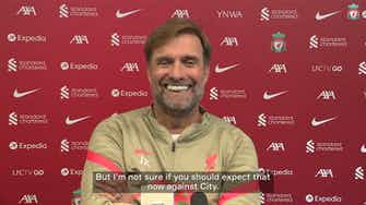 Preview image for Klopp: 'City is still the best team in Europe for me'