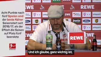 """Vorschaubild für Baumgart: """"Mannschaft geht einen geilen Weg"""""""