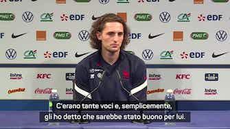 """Anteprima immagine per Rabiot a Maignan: """"Hai fatto bene, Milan rinato"""""""