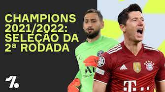 Imagem de visualização para Seleção da 2ª Rodada da CHAMPIONS LEAGUE 21/22!