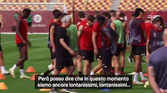 """Anteprima immagine per Mourinho: """"Cercheremo di vincere la Conference League. Quella sconfitta con lo United..."""""""