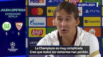 """Imagen de vista previa para Lopetegui: """"Haremos bueno el punto si ganamos el siguiente partido"""""""