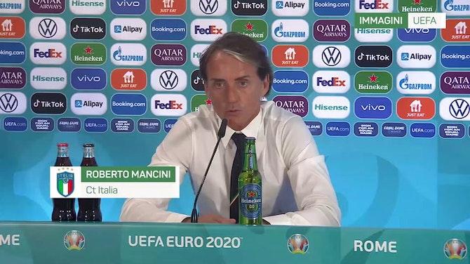 """Mancini: """"Ottima gara, una soddisfazione per gli italiani"""""""