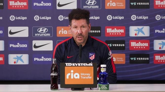 """Simeone, en titulares: """"Resolver nuestro partido es lo único que nos ocupa"""""""