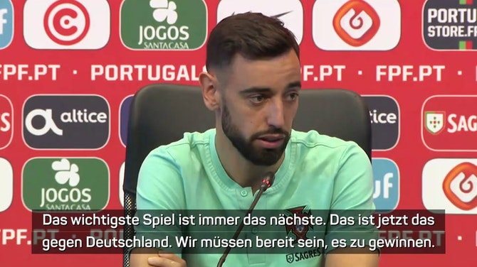 """Fernandes: """"Müssen gegen Deutschland bereit sein"""""""