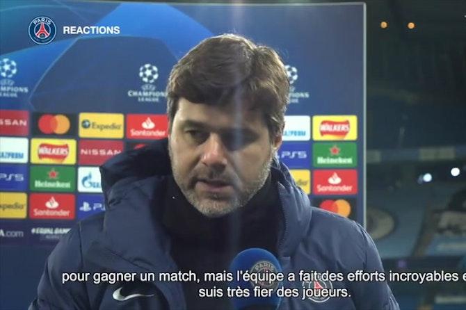 """Pochettino: """"  Je suis très fier des joueurs"""""""
