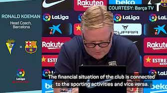 Preview image for Koeman asks for patience in extraordinary Barcelona statement