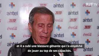 """Image d'aperçu pour Uruguay - Tabárez : """"James Rodriguez est un grand joueur"""""""