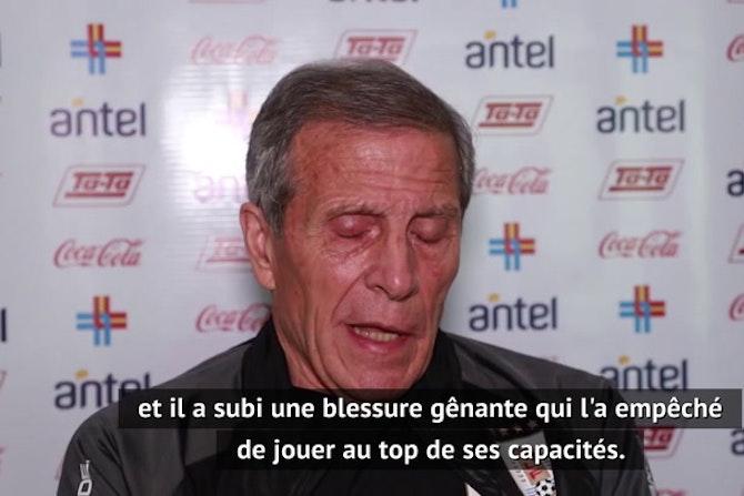 """Uruguay - Tabárez : """"James Rodriguez est un grand joueur"""""""