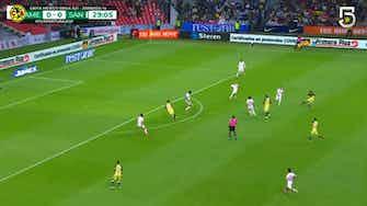 Imagen de vista previa para La victoria del América por 2-1 ante Santos